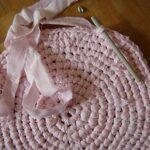 Covoras impletit roz